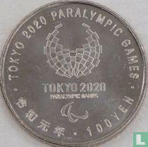 "Japan 100 yen 2019 (jaar 1) ""2020 Paralympics in Tokyo - Athletics"""