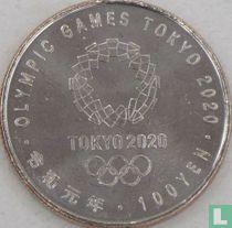 "Japan 100 yen 2019 (jaar 1) ""2020 Summer Olympics in Tokyo - Archery"""