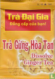 Dissolve Ginger Tea