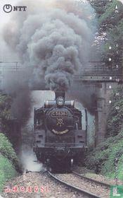 Steam Locomotive C 58363 in Mountain Valley