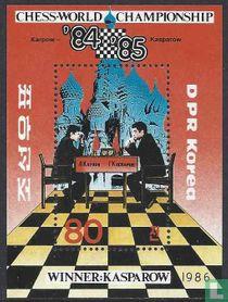 WK Schaken Karpov en Kasparov