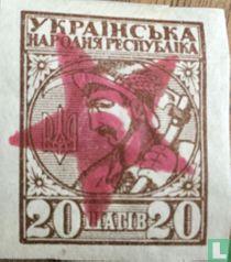 Frankeerzegels met opdruk