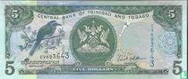 Trinidad en Tobago 5 Dollars 2015