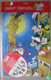 Mickey Mouse en Santa Claus