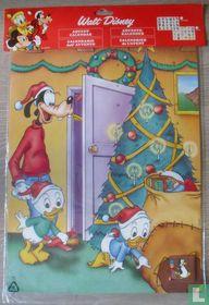 Goofy bij de kerstboom