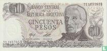 Argentinië 50 Pesos 1977