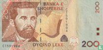 Albanië 200 Lekë 2007