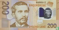 Albanië 200 Lekë 2017