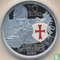 "Austria 10 euro 2020 (PROOF) ""1000th anniversary of the Council of Nablus"""