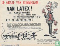 De graaf van Rommelgem van latex!