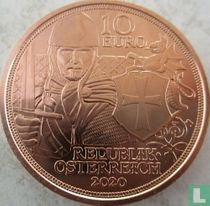 "Austria 10 euro 2020 (copper) ""1000th anniversary of the Council of Nablus"""