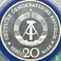 "DDR 20 mark 1990 (PROOF) ""Opening of Brandenburg Gate"""