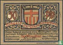 Paderborn -. Stadt 50 Pfennig