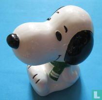 Snoopy - midden zitten.