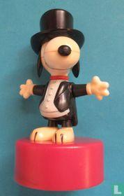 Snoopy in tuxedo