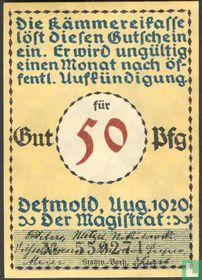 Detmold 50 Pfennig 1920 (1f)