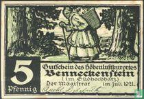 Benneckenstein 5 Pfennig