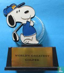 Snoopy - world'sgreatest golfer.