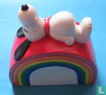 Snoopy on the Rainbow