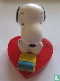 Snoopy - achter de typemachine