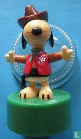 Snoopy - als Cowboy