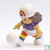 Liliane with ball