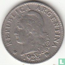 Argentinië 5 centavos 1928