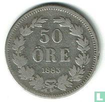 Schweden 50 Öre 1883
