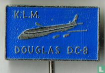 K.L.M. Douglas DC-8 [blauw]