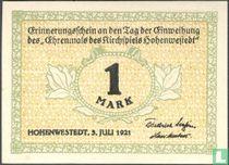 Hohenweststedt 1 Mark