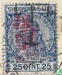 Skanderbeg - Shkodra portzegel