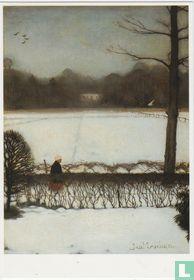 'Uitzicht atelier te Eerbeek', 1917