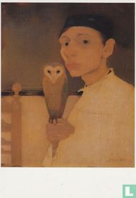 'Zelfportret met uil', 1911