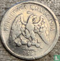 Mexico 5 centavos 1887 (Pi R)