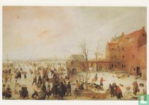 A Scene on the Ice near a Town, 1615
