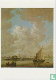 A River Scene, 1646