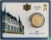 "Luxembourg 2 euro 2020 (coincard) ""200th anniversary Birth of Prince Henri"""