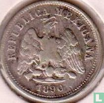 Mexico 10 centavos 1890 (Zs Z)