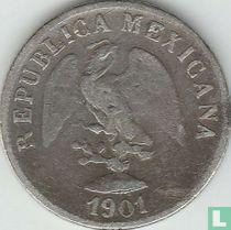 Mexico 10 centavos 1901 (Cn Q)