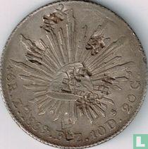 Mexico 8 reales 1889 (Zs FZ - met Chinese merken)