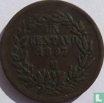 Mexico 1 centavo 1887