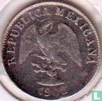 Mexico 10 centavos 1902 (Cn Q)