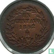 Mexico 1 centavo 1892