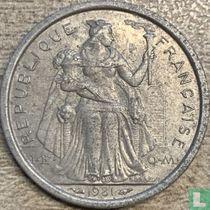 Frans-Polynesië 1 franc 1981