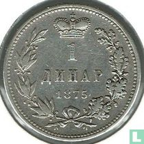 Servië 1 dinar 1875