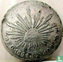 Mexico 4 reales 1851 (Go PF)