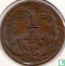 Mexico ¼ real 1833 (Mo)