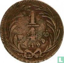 Mexico ¼ real 1836 (Mo)