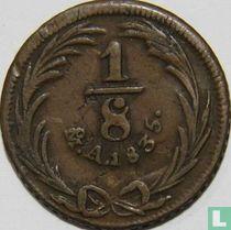 Mexico 1/8 real 1835 (Mo)