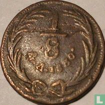 Mexico 1/8 real 1830 (Mo)